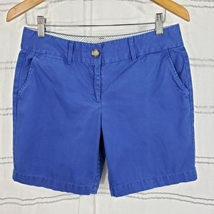 Loft Royal Blue Chino Shorts